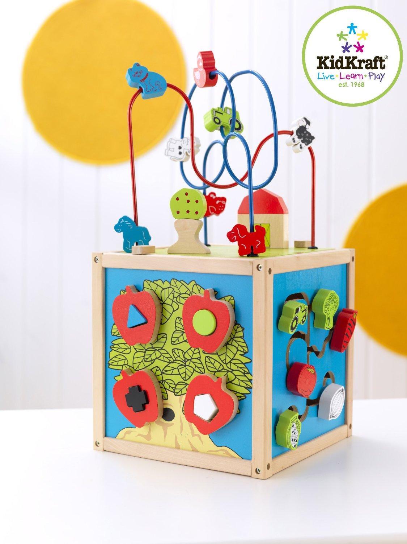 Best Babytoddler Toy Ever Wooden Activity Cubes Momlifehacker
