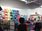 View of the Gap Outlet Kids & Baby store, #3. You can see that the clearance section is really small.