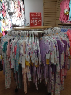 Great assortment of PJ sets, working out to $6 per set (sold in packs of 2) after the discounts.