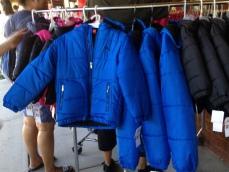 More Puma coats.
