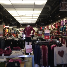 Inside of the store - fall merchandise!