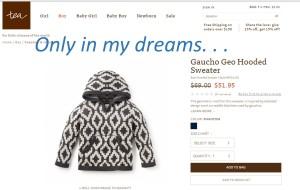 tea gaucho geo dreams