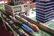 Yup, actually made of LEGOs