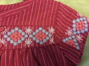 Tea Collection El Alto Embroidered Dress