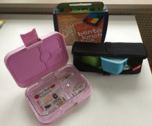 Part of our assortment of bento boxes