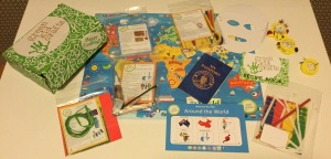 Green Kid Crafts Holidays Around the World Discovery box
