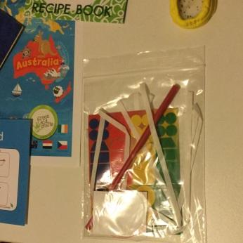 Green Kid Craft Chinese Hand Kite