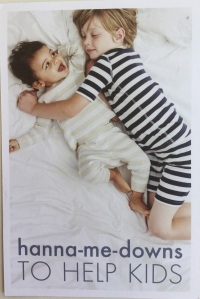 Hanna-me-downs postcard