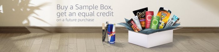 Amazon Sample Box Deal
