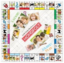 Target personalized Monopoly game board