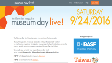 Smithsonian magazine Museum Day Live